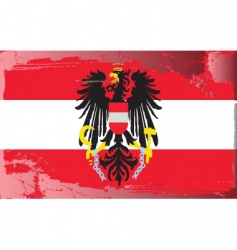 Austria national flag vector
