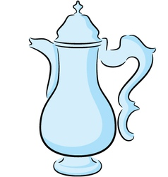 Coffeepot vector