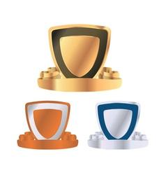 Emblems set vector