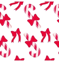 Seamless pattern with Christmas sweets design vector image