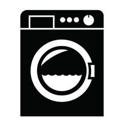 Washing machine icon vector image vector image