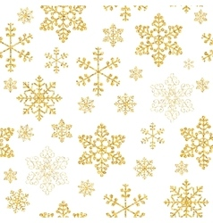 Abstract Beauty Christmas and New Year Snowflakes vector image