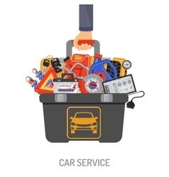 Car Service Concept vector image