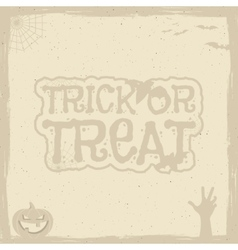 Happy Halloween Poster template with holiday vector image vector image