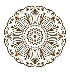 Mandala pattern vector image