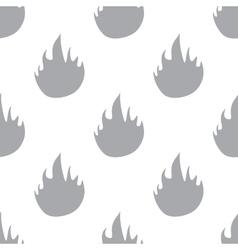 New fire seamless pattern vector