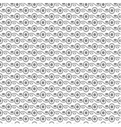 seamless stylish texture with connected circles vector image