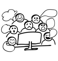 Computer gossip vector
