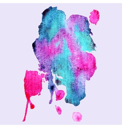 Abstract hand paint watercolor background vector