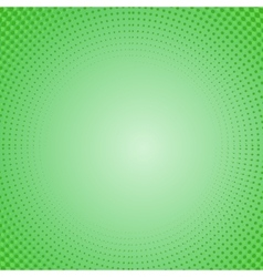 Dots on Green Background Halftone Texture vector image vector image