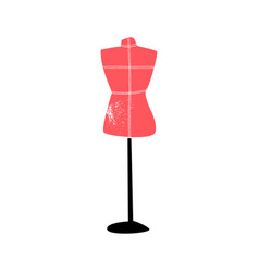dressmakers tailors dummy mannequin vector image