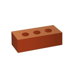 Just Brick icon You can use it as logo template - vector image