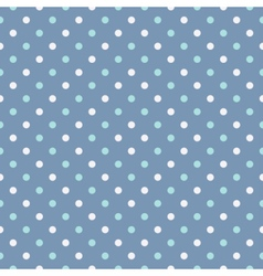Polka dot seamless pattern or background vector image