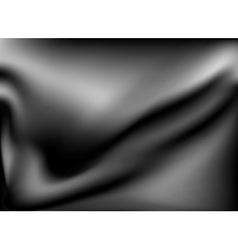 Black abstract satin background vector
