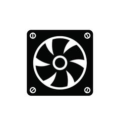 Computer fan vector