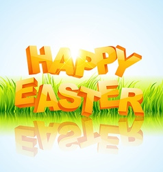 Creative happy easter vector