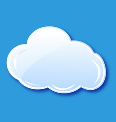 Cloud icon element vector image vector image