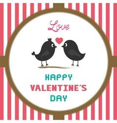 Romantic card44 vector image vector image
