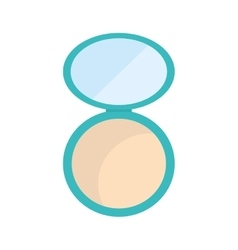 Powder make up style product icon graphic vector