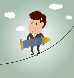 Risk management concept vector
