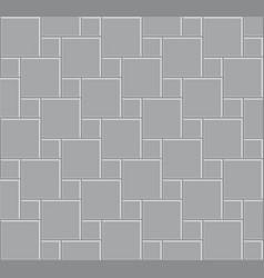 3d tile stone pattern floor vector