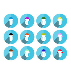 button people vector image