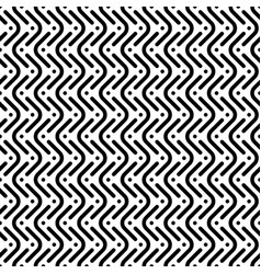 Herringbone monochrome seamless pattern in flat vector