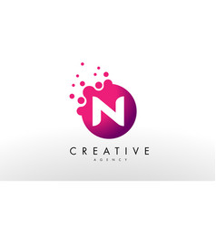 Letter n logo n letter design vector