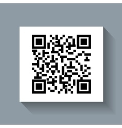 System qr code id product vector