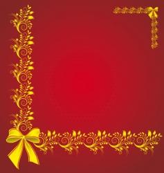 celebratory card vector image