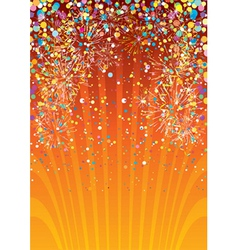 festive fun vector image vector image