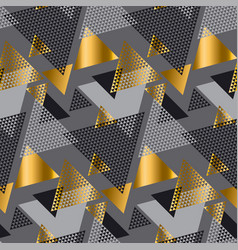 Gold and gray elegant color creative repeatable vector