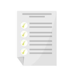 Isolated study exam vector