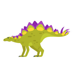 Prehistoric animal - stegosaurus vector