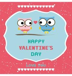 Romantic card42 vector image vector image
