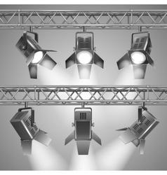 show projectors vector image vector image