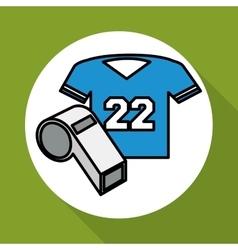 Soccer icon design vector image