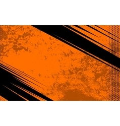 Comic Book and Journal Background Orange vector image