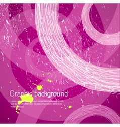 Purple graphic background vector image