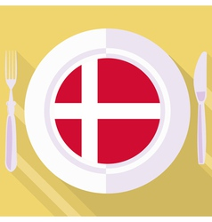 Kitchen of denmark vector