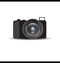 Mirrorless camera vector