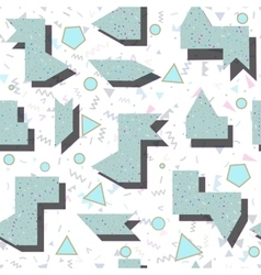 abstract bright colored geometric pattern in style vector image vector image