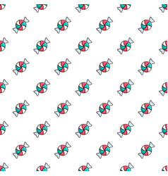 Candy pattern vector