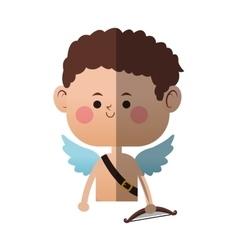 cupid cartoon icon vector image vector image