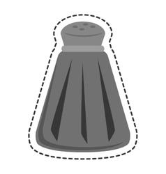 Salt ingredient isolated icon vector