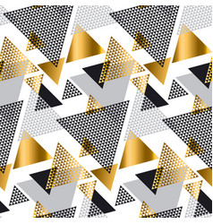 gold and gray elegant color creative repeatable vector image