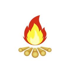 Campfire-380x400 vector image