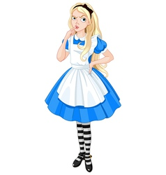 Thinking alice vector