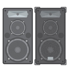 Concert speakers vector