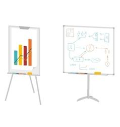 Boards for presentation vector